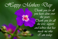 Thank You Mothers Day Card